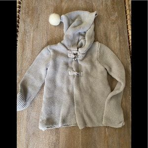Crazy 8 Toddler Sweater with Hood